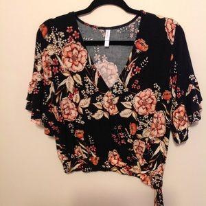 Xhilaration XL Floral Top